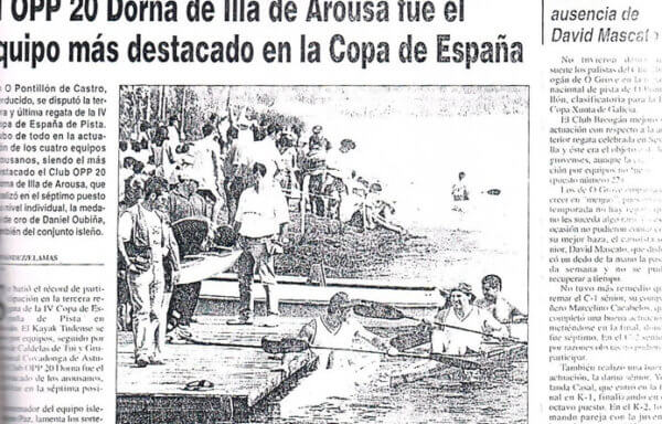 El OPP 20 Dorna de Illa de Arousa fue el equipo más destacado en la Copa de España