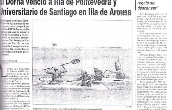 El Dorna venció a Ría de Pontevedra y Universitario de Santia en Illa de Arousa
