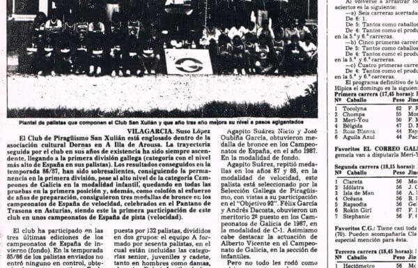 El Club de piragüismo San Xulián, por el camino del éxito a pesar de la falta de apoyo institucional