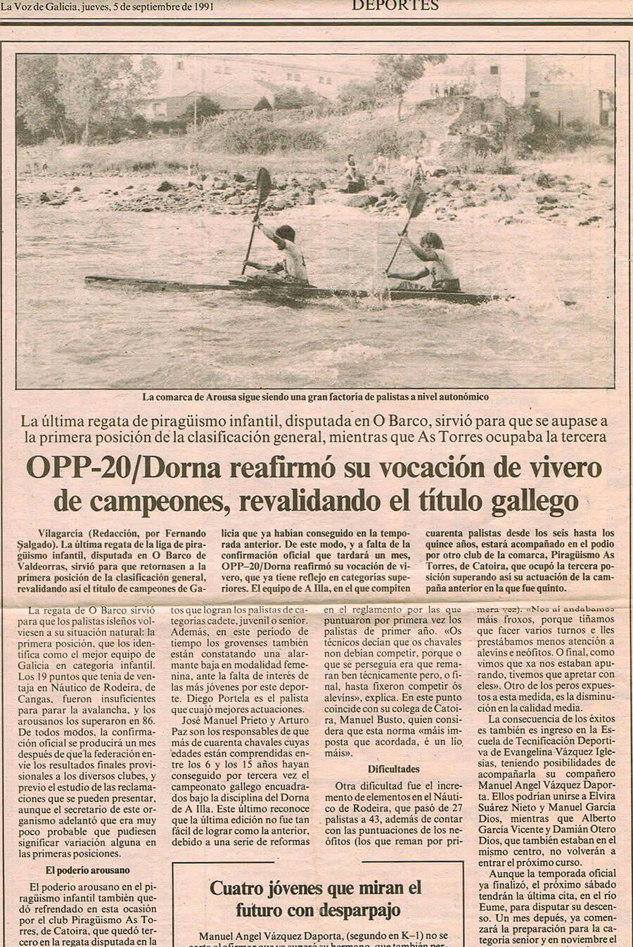Prensa OPP-20/Dorna reafirmó su vocación de vivero de campeones, revalidando el título gallego