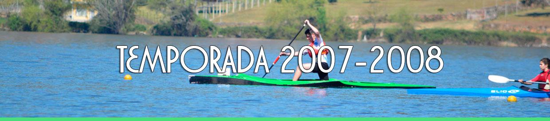 Palmarés TEMPORADA 2007-2008