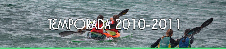 Palmarés TEMPORADA 2010-2011