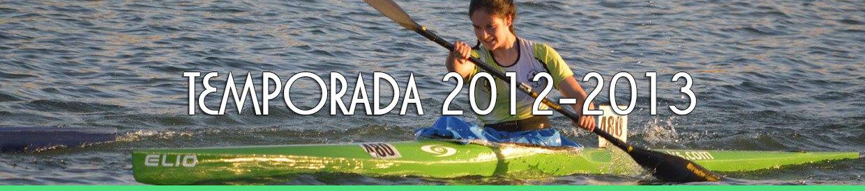 Palmarés TEMPORADA 2012-2013