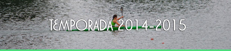 Palmarés TEMPORADA 2014-2015