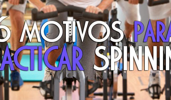 6 motivos para practicar spinning